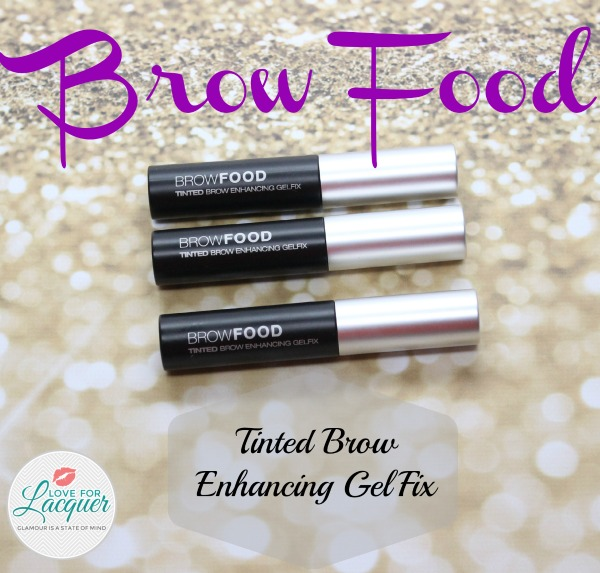 Browfood Tinted Brow Enhancing Gelfix Swatches Review Love For