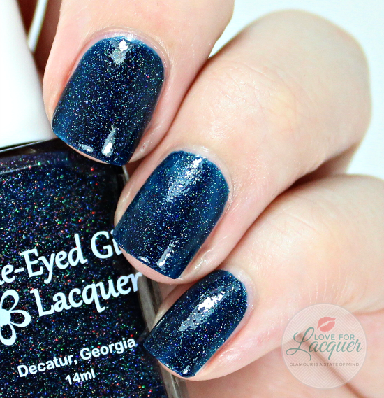 Blue Eyed Girl Lacquer  Bound To The City Life
