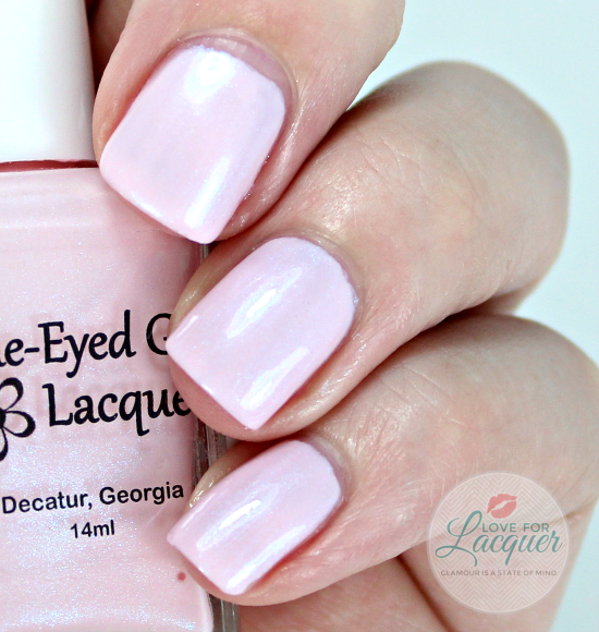 Blue Eyed Girl Lacquer Cherry Blossom