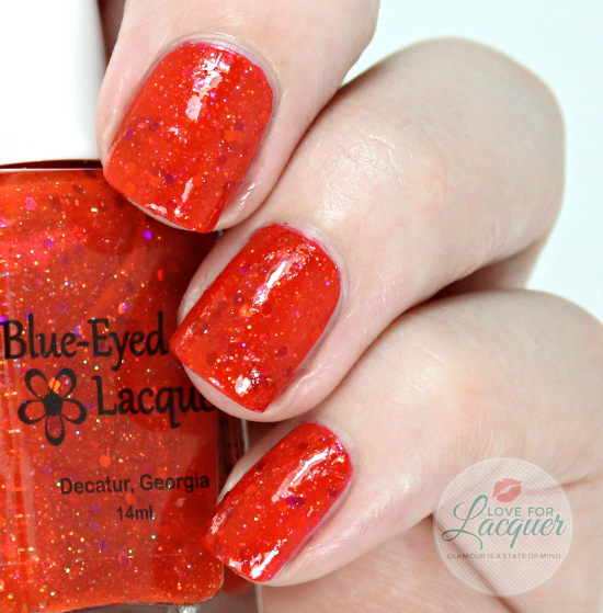 Blue Eyed Girl Lacquer Fierce And Free