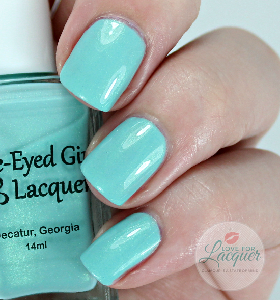 Blue Eyed Girl Lacquer Monsters Tea At Tiffanys