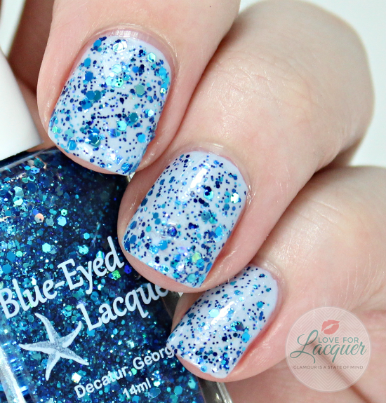 Blue Eyed Girl Lacquer Sirens Birthday Sprinkles