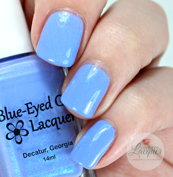 Blue Eyed Girl Lacquer Sordid End