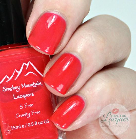 Smokey Mountain Lacquers Can You BeReef It