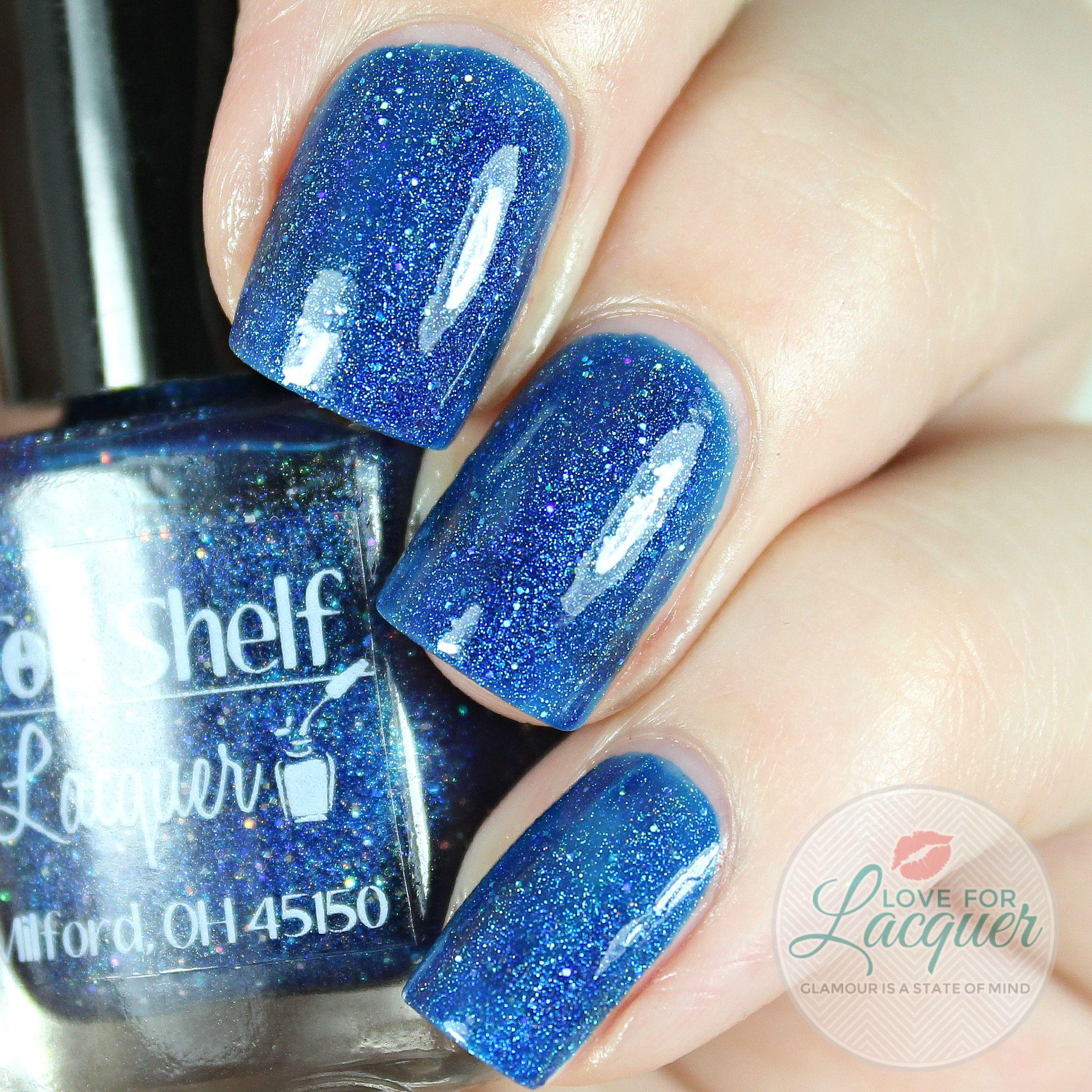 Top Shelf Lacquer Pacific Blue Sangria 2