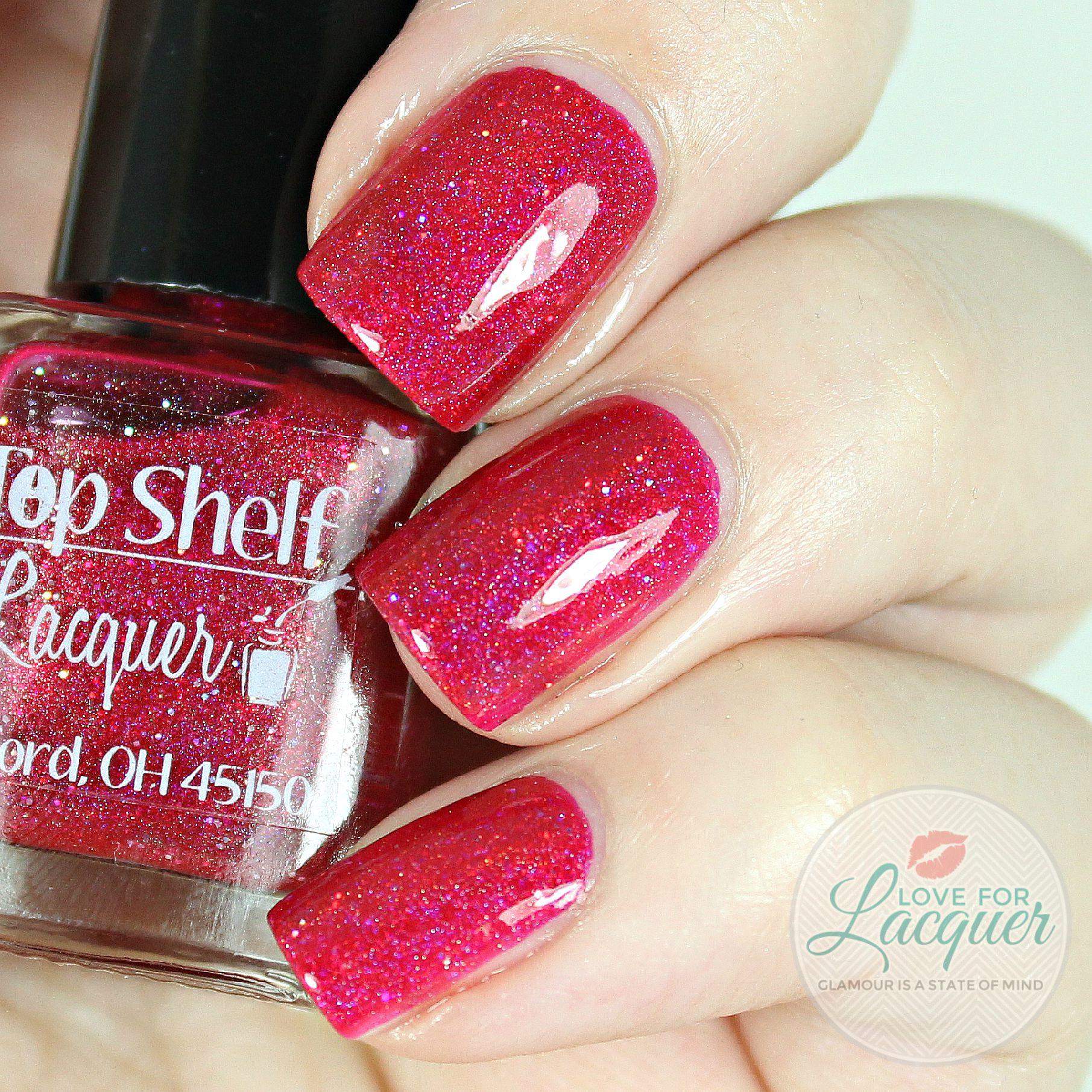 Top Shelf Lacquer Strawberry Sangria