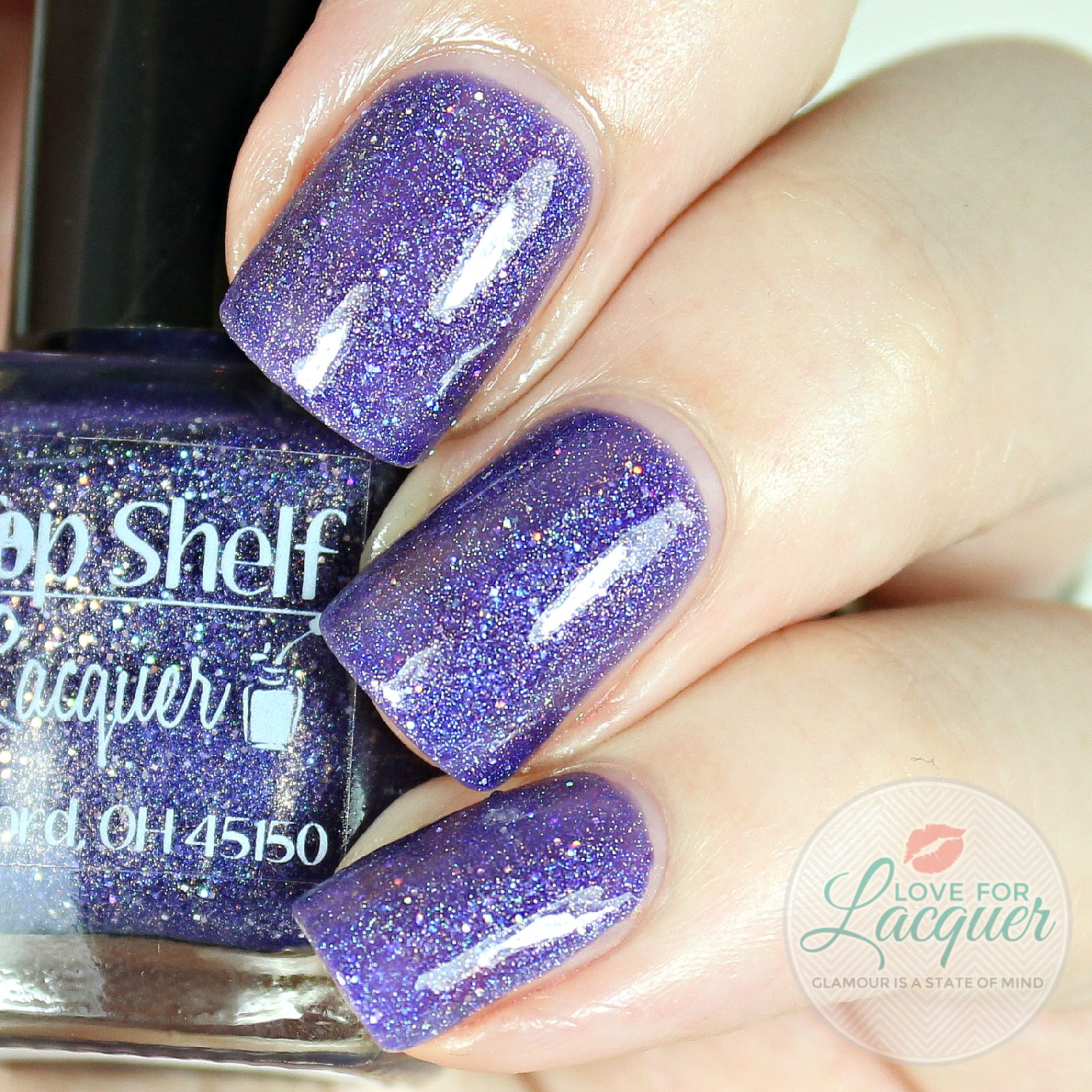 Top Shelf Lacquer Sweet Berry sangria