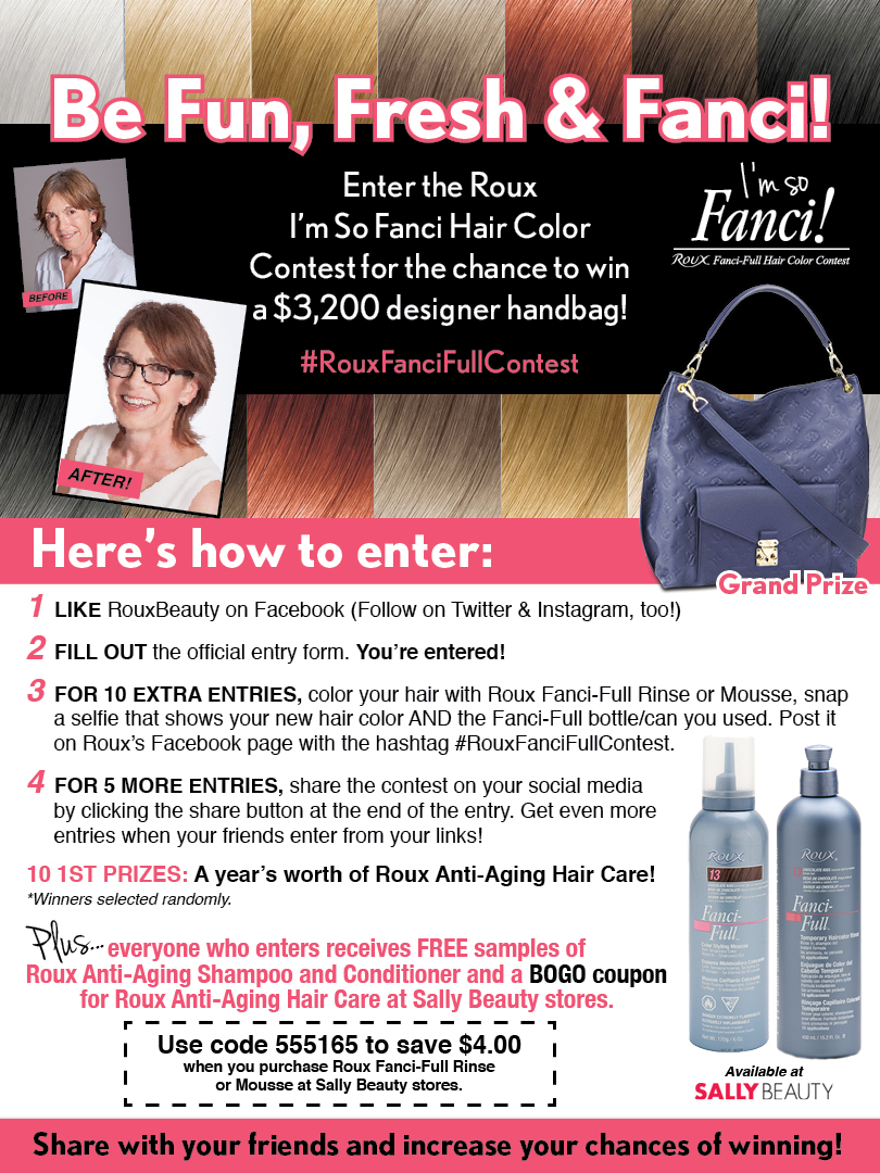 Freshen Up Your Hair For Fall With Roux Fanci Full Rinse Love For