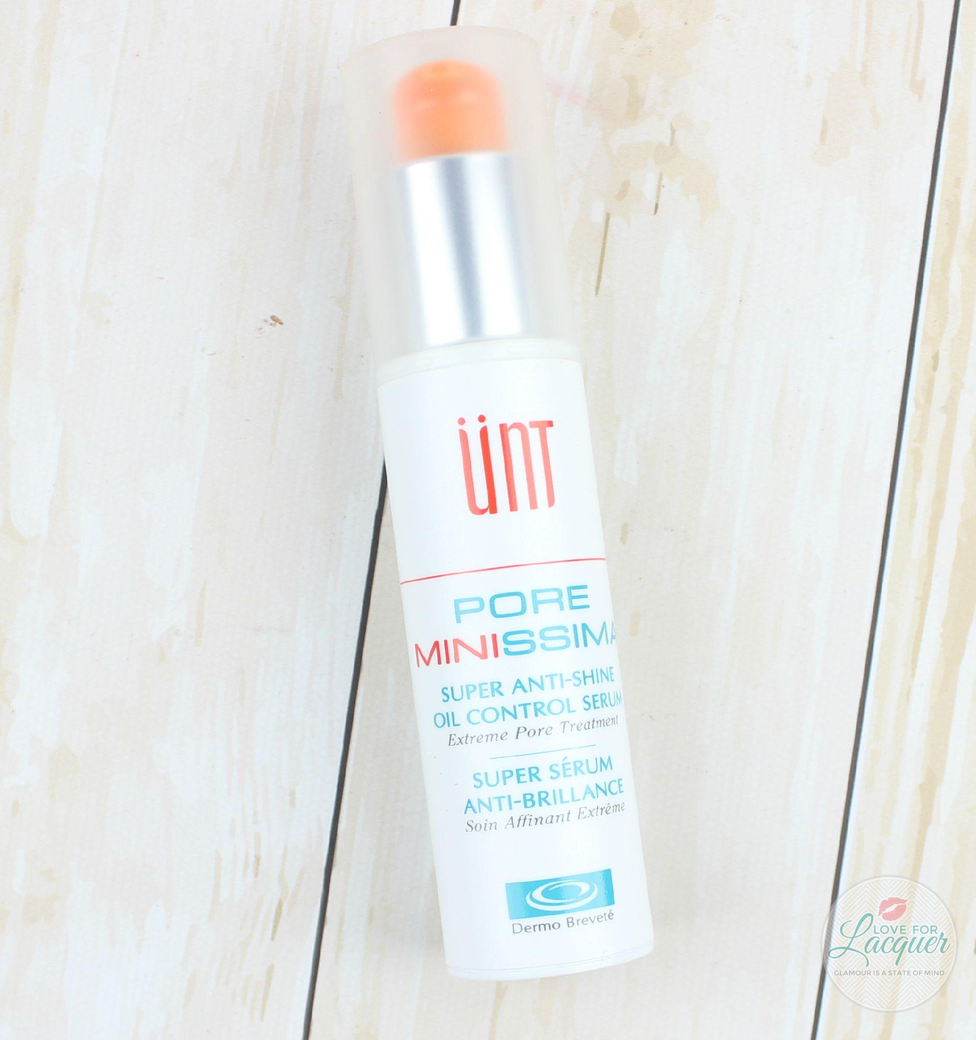 Unt Pore Minissima Super Anti Shine Oil Control Serum
