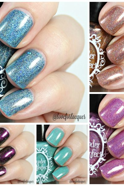 Powder Perfect Quest For Paradise Collection | Swatches & Review