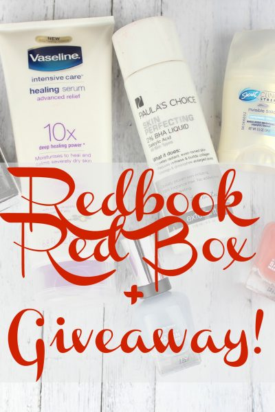 Redbook RedBox Beauty Edition Box + Giveaway!