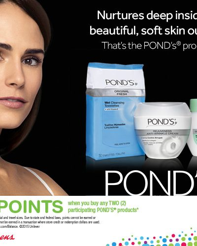 Save On Ponds This Season At Walgreens!