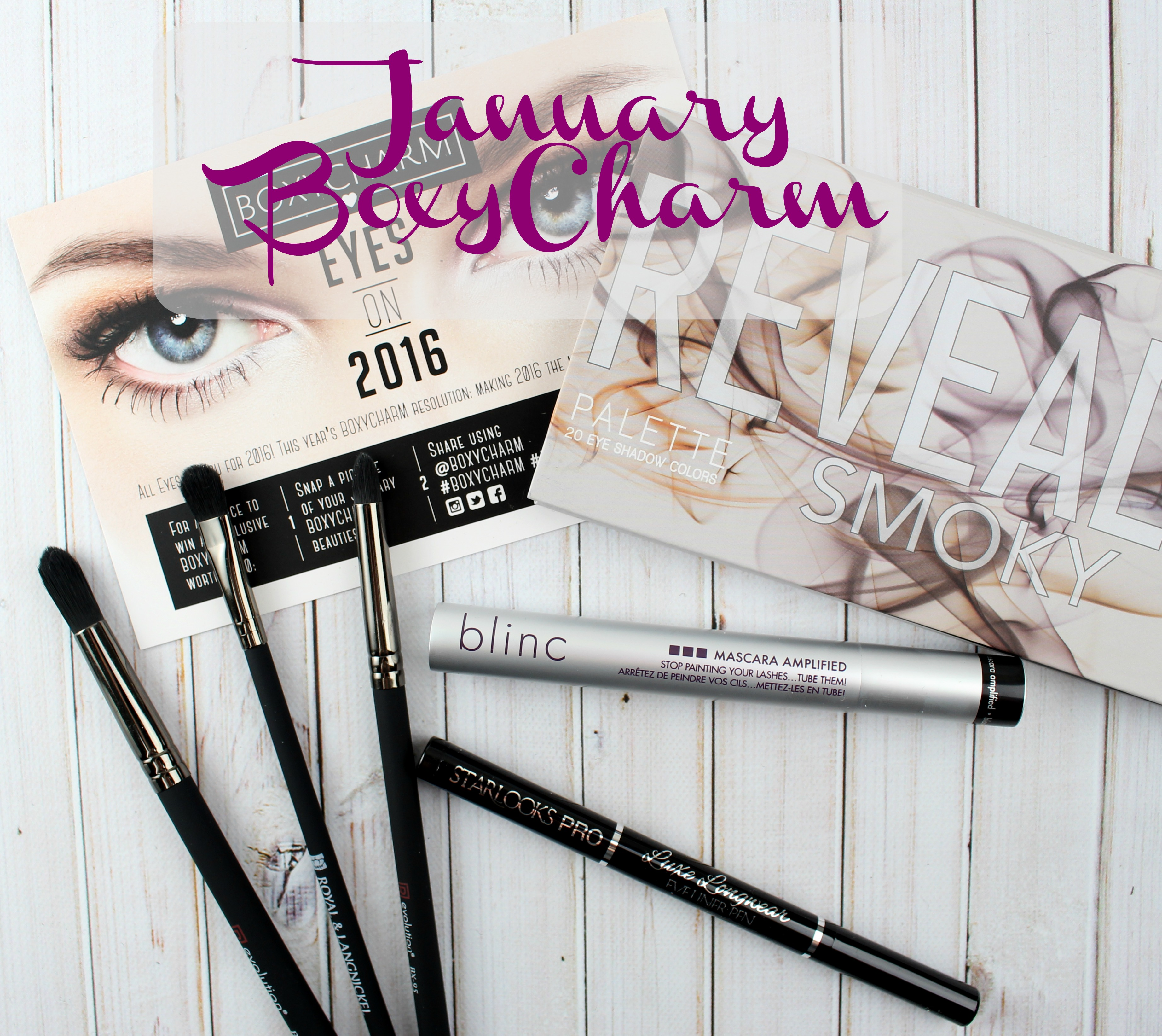 January 2016 BoxyCharm! + Coupon Code - Love for Lacquer