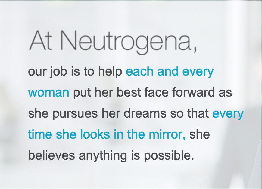 See What's Possible | Neutrogena Global Campaign - Love for Lacquer