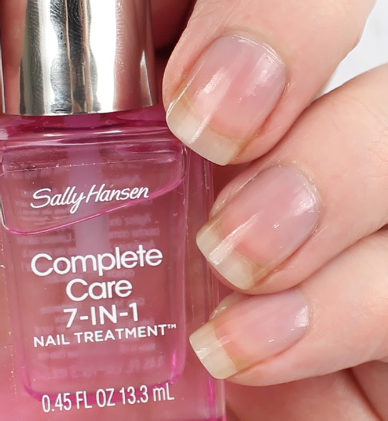Sally Hansen Nail Brightener Review Nail Ftempo