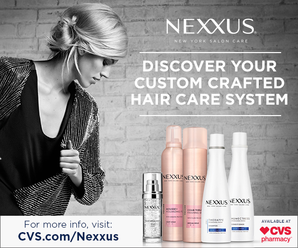Healthy Hair Don't Care | SAVE on Nexxus at CVS!