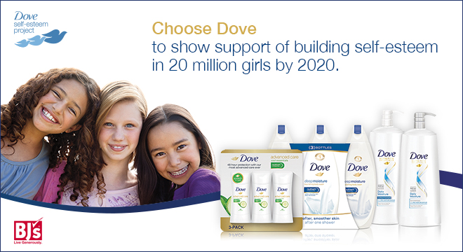 #SpeakBeautiful With Dove & BJ's