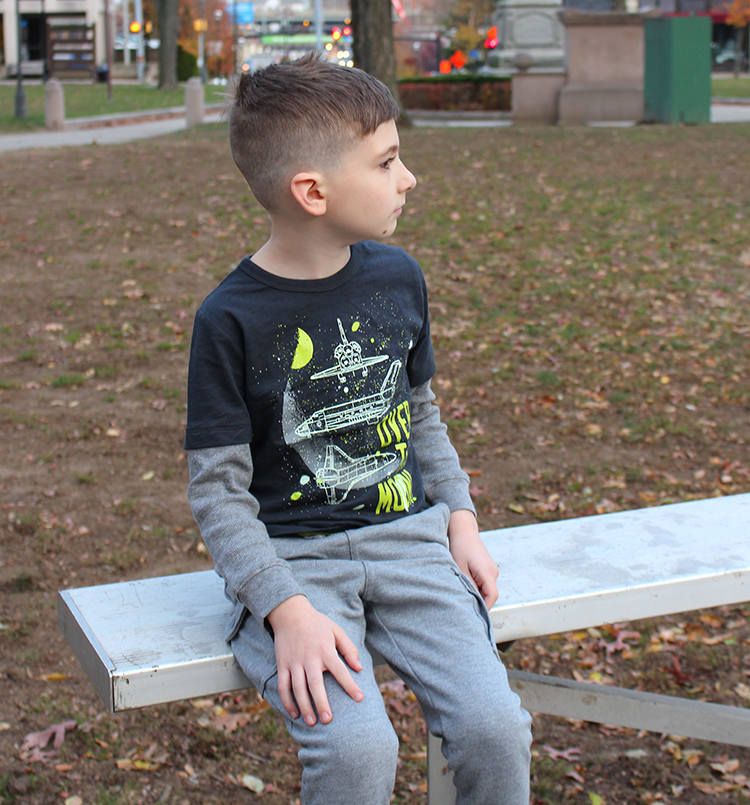 Cool & Casual Holiday Fashion For Boys From OshKosh B'Gosh + Giveaway!