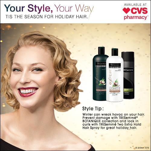 Tis The Season for Fabulous Hair & Savings at CVS!