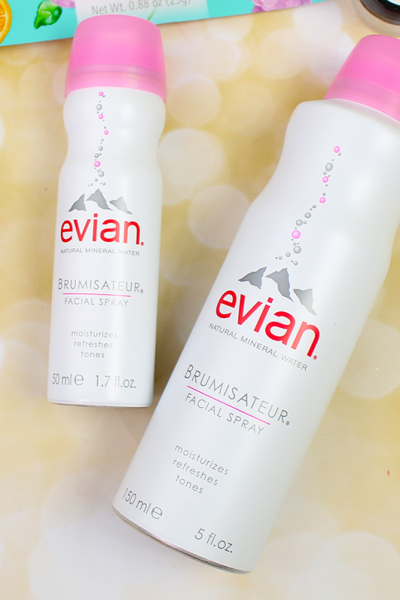 Pamper Yourself At Home With evian® Facial Spray + GIVEAWAY!