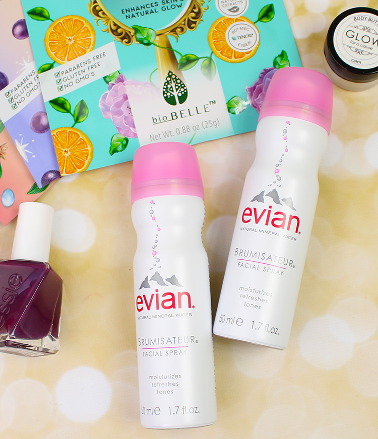 Pamper yourself at home with evian facial spray giveaway love with a few spritzes after i landed my face felt like it was brand new again its definitely an affordable way to give yourself a luxurious spa treatment solutioingenieria Gallery