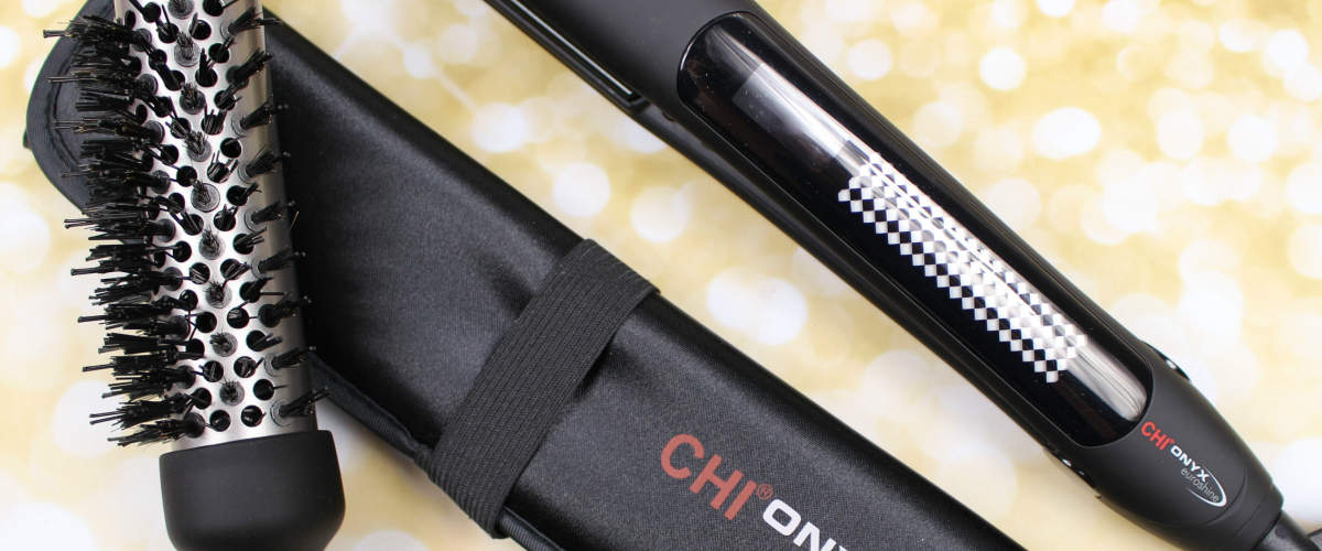 Get Sleek Hair with CHI Onyx Euroshine Hairstyling Iron | Loxa Beauty