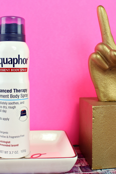 Skincare Problems Solved with AquaphorⓇ Ointment Body Spray
