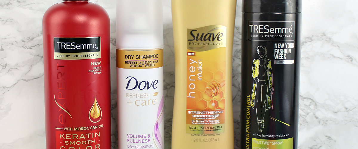 Easy Last Minute Holiday Hair Tutorial ft TRESemme, Suave & Dove
