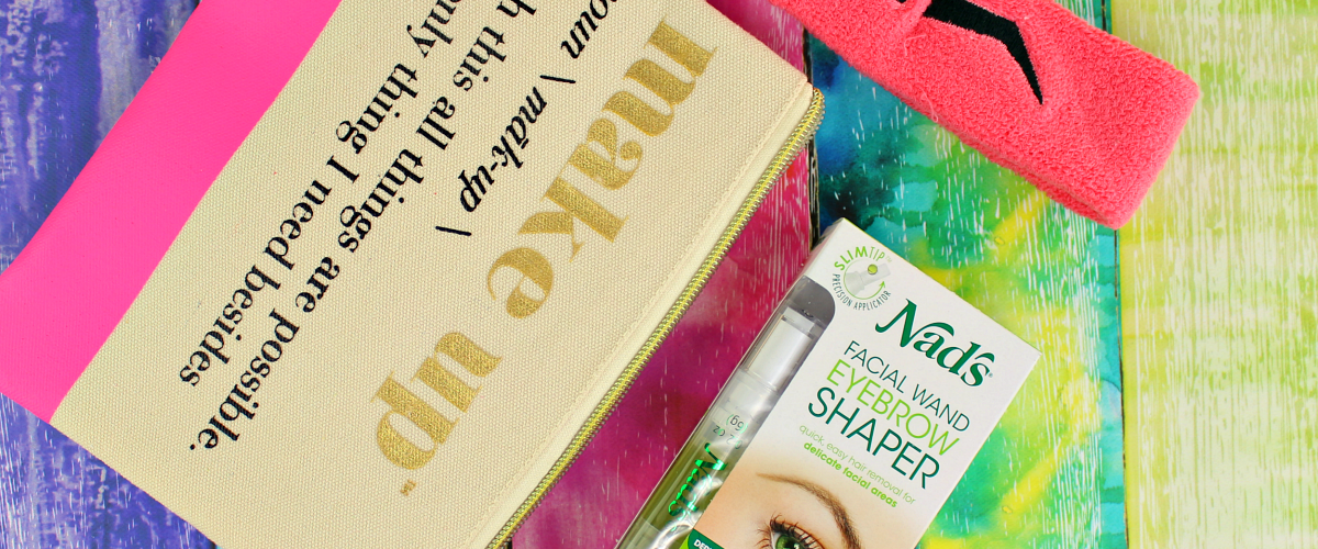 Getting Your Brows In Shape For The Holiday with Nad's