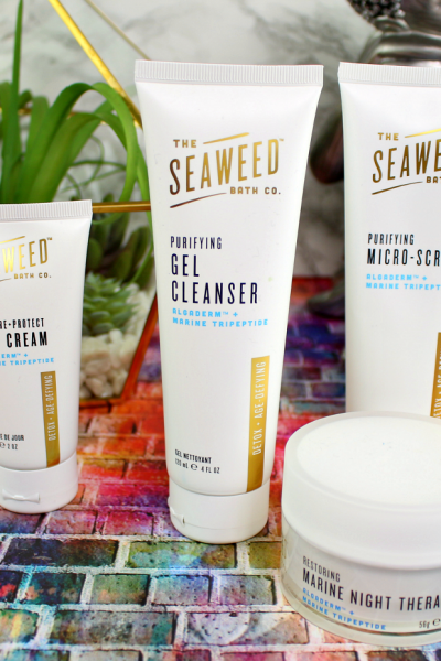 New Beauty At Target: The Seaweed Bath Co.'s Detox + Age-Defying Skin Care Line