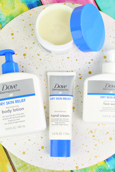Get Your Dry Skin Ready For Spring with Dove Derma Series
