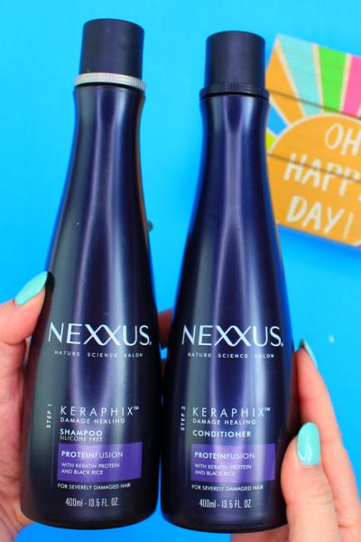Revive Your Damaged Hair With Nexxus Keraphix   #NexxusSpringHaul