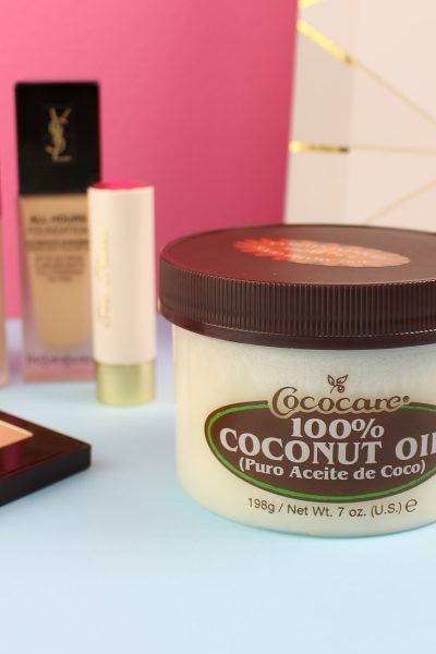 How I'm Incorporating Cococare 100% Coconut Oil into My Fall Beauty Routine