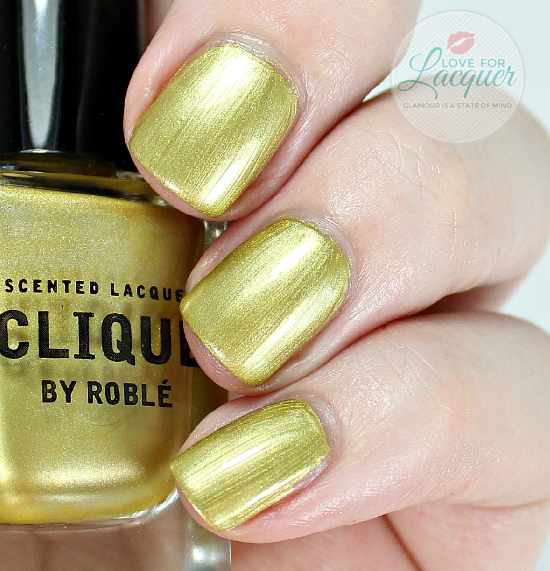 Clique By Roble Nail Polish Swatch