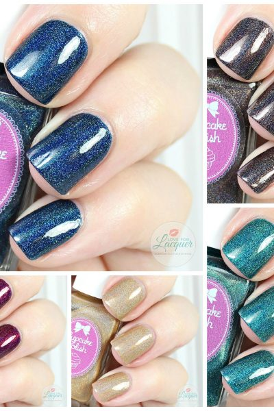Cupcake Polish Fall 2015 Modern Vampire Collection | Swatches & Review
