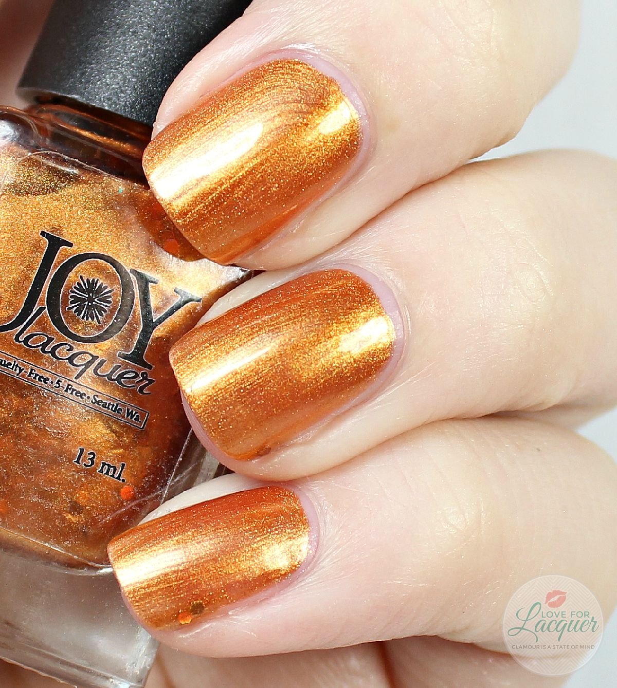 Joy Lacquer Flaming Pumpkin Head