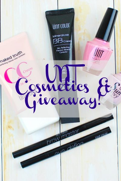 UNT Cosmetics Review + Giveaway!