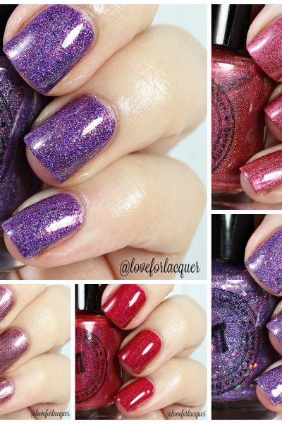 Seventy Seven Nail Lacquer Greek Goddess Collection | Swatches & Review