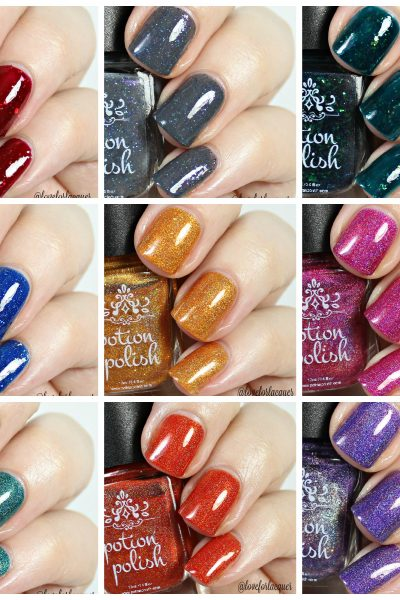 Potion Polish Fall For Me Collection | Swatches & Review