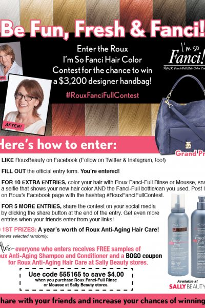 Enter To Win A Louis Vuitton Handbag With The Roux Beauty Fanci Full Contest!
