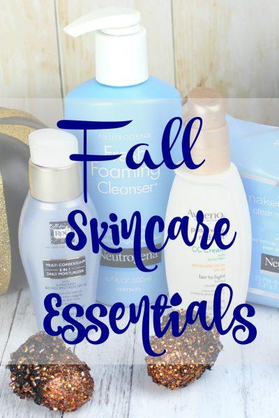 Fall Skincare Essentials | Neutrogena, Aveeno & ROC