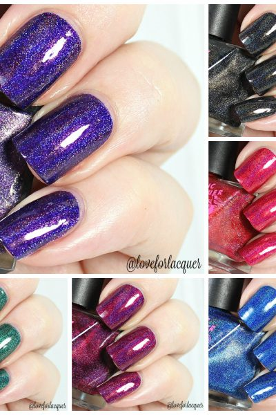 SuperChic Lacquer Dreamology Collection   Swatches & Review