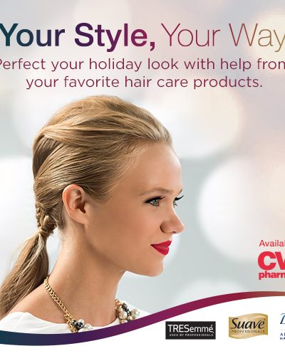 Perfect Your Holiday Look With Help From Hair Care Products at CVS