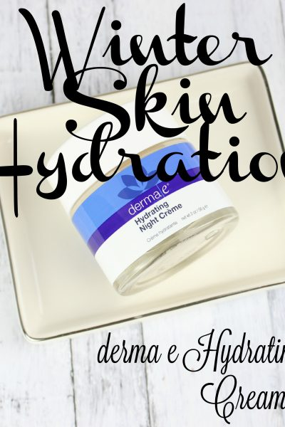 Winter Skin Hydration | derma e Hydrating Night Cream Review