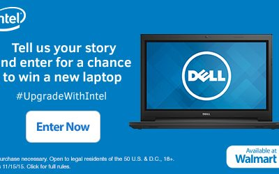 Win A New Laptop From Intel!   #UpgradeWithIntel