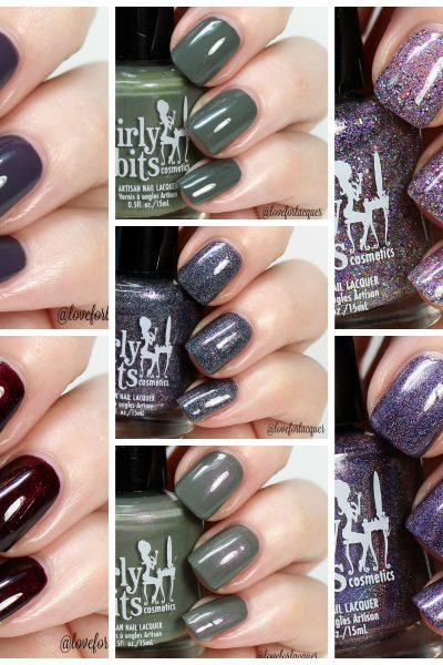 Girly Bits Cosmetics Hocus Pocus Collection | Swatches & Review