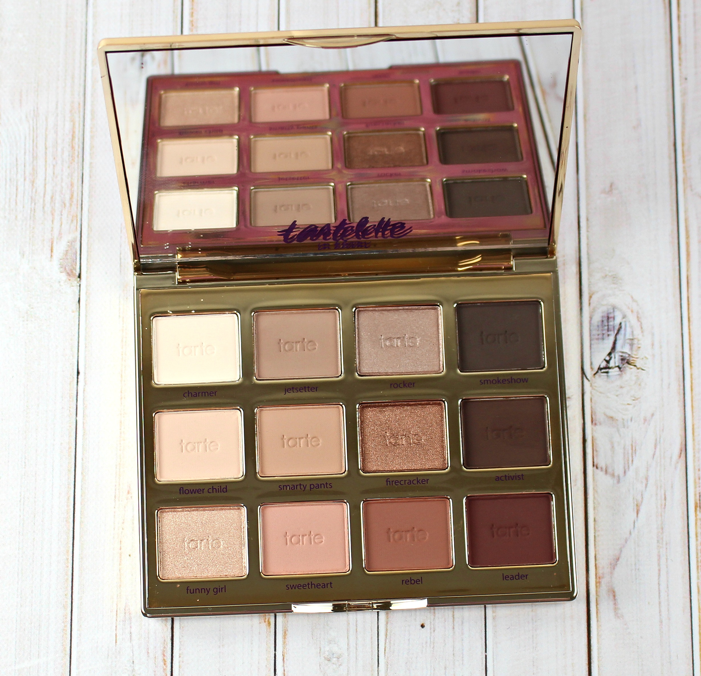 tartelette in bloom clay palette review