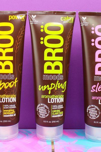 Sleep, Reboot & Unplug With New BRÖÖ Moods Aromatherapy Lotions