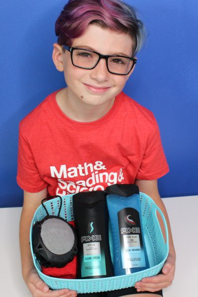 Back to School Shower Pack From Axe To Boost Your Sons Confidence