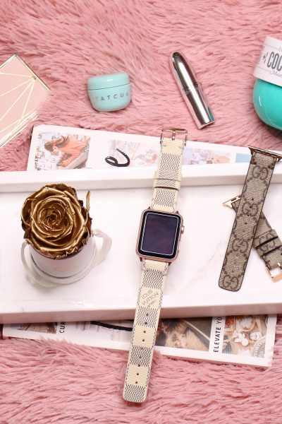 Weekly Faves | Tatcha, Sol De Janeiro, Jouer, MAC, Gucci + Louis Vuitton Watch Band